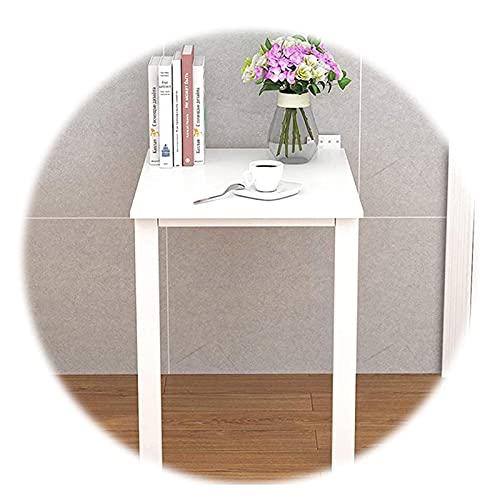 Sywlwxkq Mesa Plegable de Pared Mesa de Comedor Invisible Mesa de Pared de apartamento pequeño y Moderno Simple para Cocina Actividad de Aprendizaje Ahorro de Espacio, 11 tamaños (Color: Bl