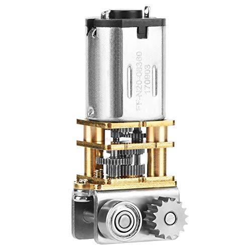 DC12V Motor de engranajes 11RPM N20 Caja de cambios de metal de ángulo recto Micro Engranaje del motor para la pluma de impresión 3D