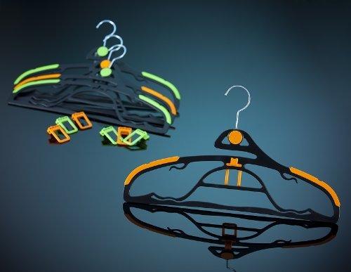 Lux-In GmbH Appendiabiti Multifunzione, Colore: Arancione, 13-Teilig, unità