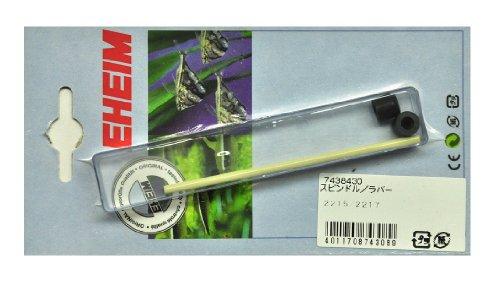 Eheim 7438430 - Eje y Casquillos para Filtros Externos de Acuario Classic 350-600 (tipos 2215-2217)