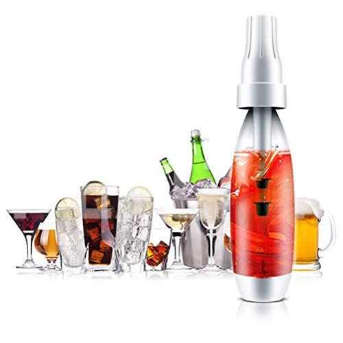 HEREB Wassersprudler Tragbarer 1000ML Sprudelwassermacher Griff Bubble Soda Maschine Soda Creme Flaschenspender für DIY Getränke