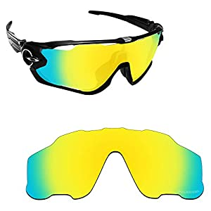 Alphax Polarized Replacement Lenses/Accessories for Oakley Jawbreaker OO9290 – Multiple Options