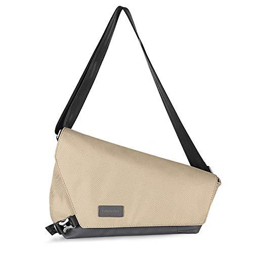 Crossbody Bag Casual Daypack, Fintie Anti-Theft Outdoor Sport Travel Hiking Shoulder Chest Sling Purse for Boys Men Women Girls (Beige)