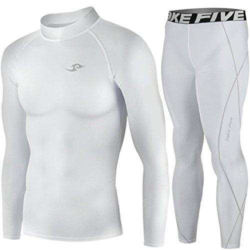 FIXGEAR Skin-tight Compression base layer Under shirt pants SET training 1