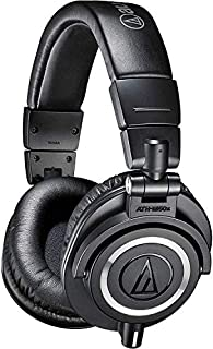 Audio-Technica ATH-M50X Studio Monitor Professional Headphones - Black (B00HVLUR86) | Amazon price tracker / tracking, Amazon price history charts, Amazon price watches, Amazon price drop alerts