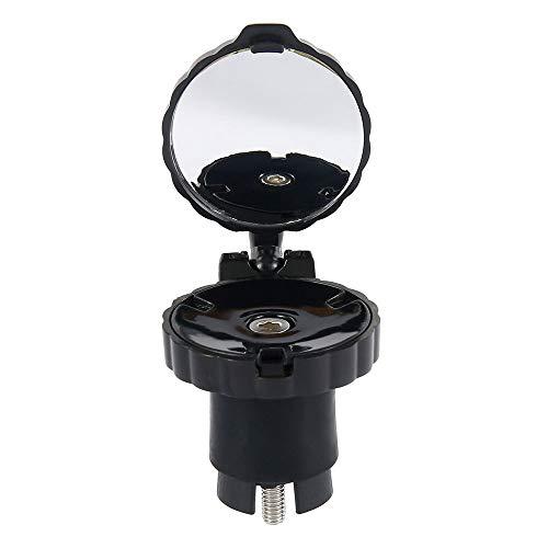 Specchietti Bici Mini 360 ° Regolabile per Mountain Bike con Diametro Interno del Manubrio di 21-22,2 mm...