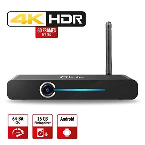 FANTEC 4KS6000 4K Ultra HD und 3D Full HD Media Player
