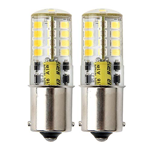 1156 Glühbirne 12V Singlekontakt, Kaltweiß 6000K Wasserdichtes Design für Outdoor-Landschaft Beleuchtung, etc. (2 Stück)