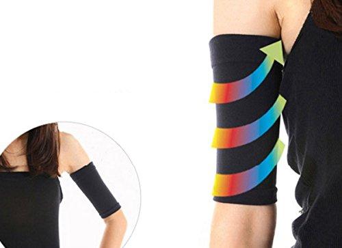 Aivtalk Damen Arm Hülse Elastisch Kompresion Arm Gürtel Band für Arm Former Slimming Shaper Schlank Abnehmen - 6