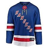 NHL Eishockey Trikot Jersey New York NY Rangers Breakaway by Fanatics (L) -