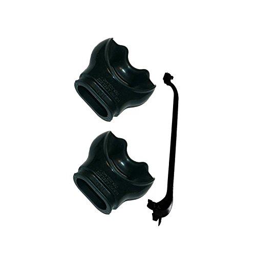 Aqua Lung Comfo®- Mundstück mit Schnellbride - 2 Stück