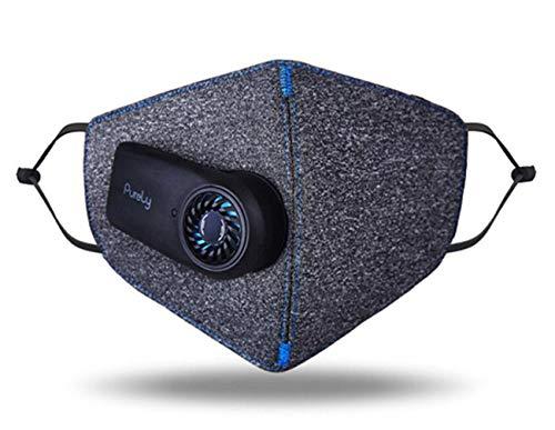 WJ Atmen Sie Filter, Einstellbare Quiet Fan Nanomaterialien Luftreiniger, USB Elektrischer Gesichts Isolat Haze Staubdichtes Prevent Splash Air Fliter Für Den Außenbereich