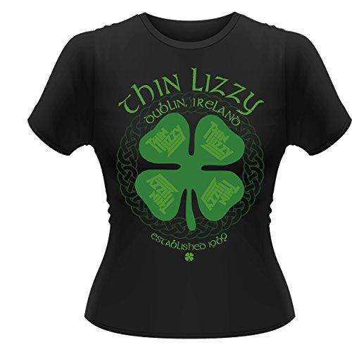 Thin Lizzy - Four Leaf Clover (T-Shirt Donna Tg. XL) [Italia]