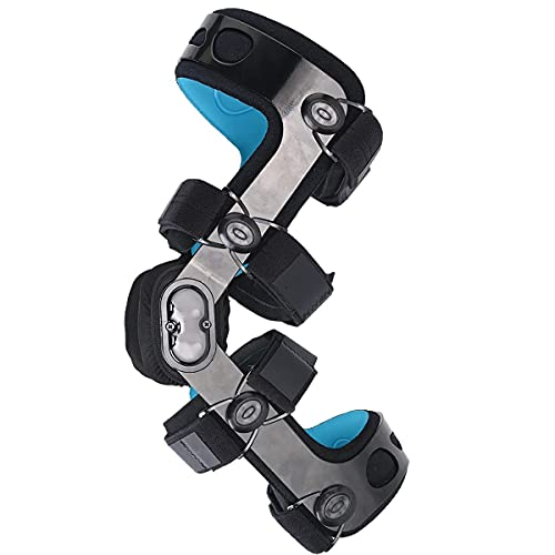 Orthomen Knee Brace for ACL/Ligament/Sports Injuries, Mild Osteoarthritis(OA) & for Preventive Protection from Knee Joint Pain/Degeneration (S-Left)