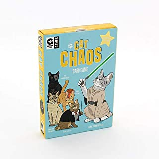 Ginger Fox Cat Chaos Card Swapping Game - Cat Craziness Game