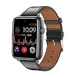 l b s DM20 Orologio Intelligente da Uomo IPS Schermo Navigazione GPS e WiFi Pedometro SMS Chiamata Impermeabile Smart Watch Android 7.1 Pk Iwatch 4 W34 (B)