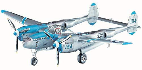 ハセガワ 1/48 アメリカ陸軍 P-38J ライトニング バージニアマリー プラモデル JT1