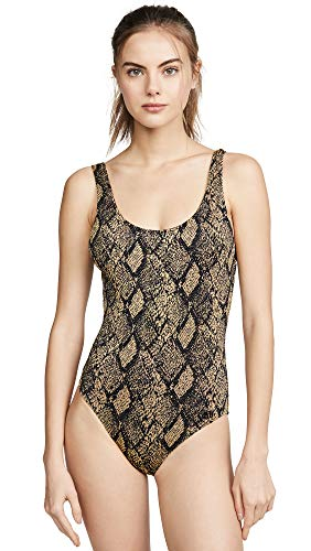 Solid & Striped Women's Anne Marie One Piece, Snake, Small