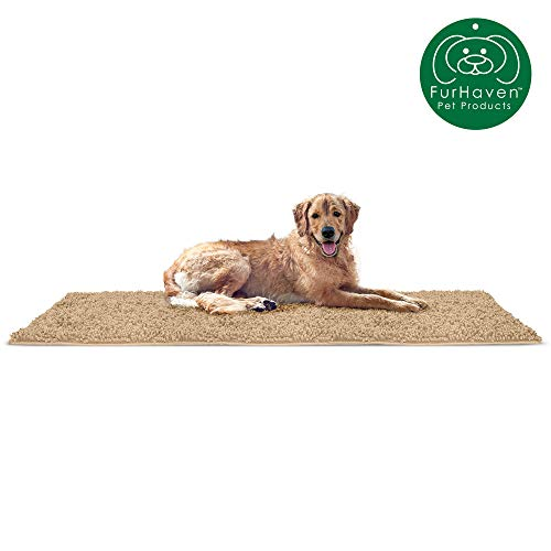 Furhaven Pet Dog Mat | Muddy Paws Towel & Shammy Rug