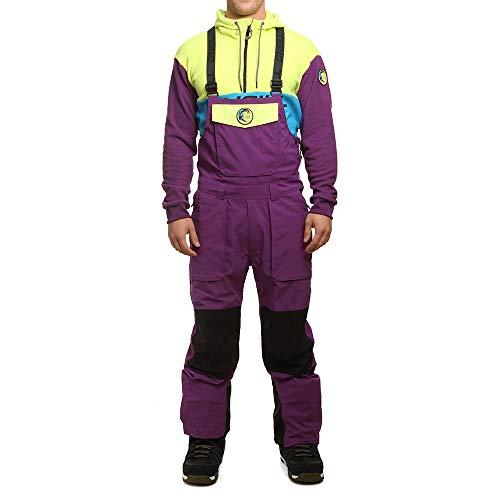 O'Neill Herren Shred bib Pants Skihose, Purple Haze, S