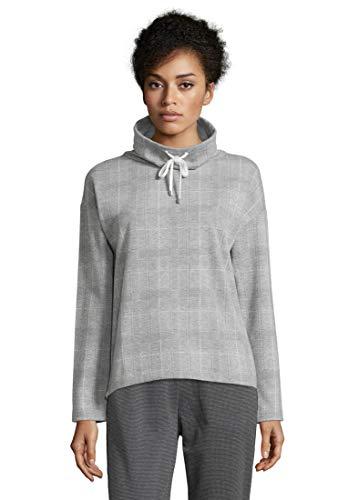 Cartoon Damen 8124/7206 Sweatshirt, Grau (Grey/Cream 9813), (Herstellergröße: 40)