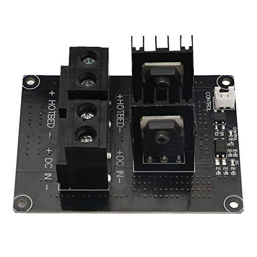 3D-Printeraccessoires 24V broedplaats Driver Board Power Module, MOS Buis Module For Verwarmd Bed Ultrabase Van Chiron 3D-printer