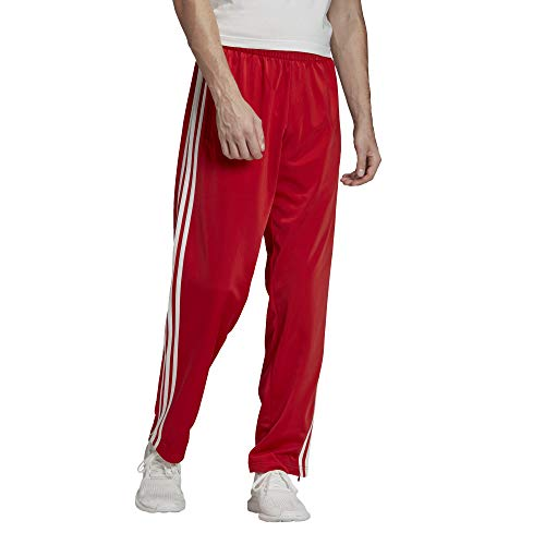 adidas Mens Firebird Track Pants, Lush Red, L