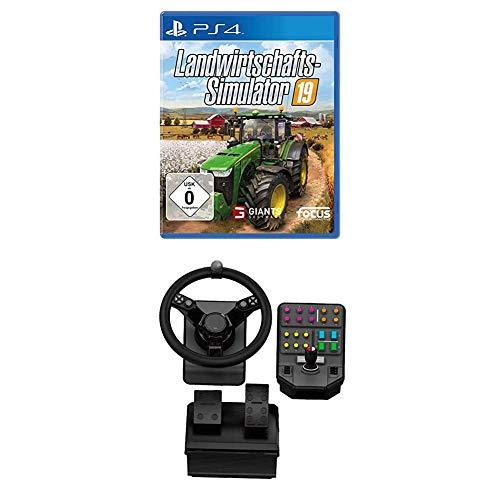 Landwirtschafts-Simulator 19 PS4 + Logitech G Saitek Farm Sim Controller, PC/Mac/PS4