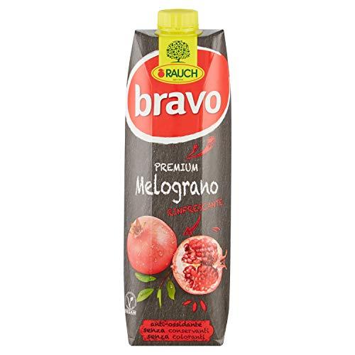 Bravo Rauch Bevanda al Succo di Multifrutta Melograno, 1L