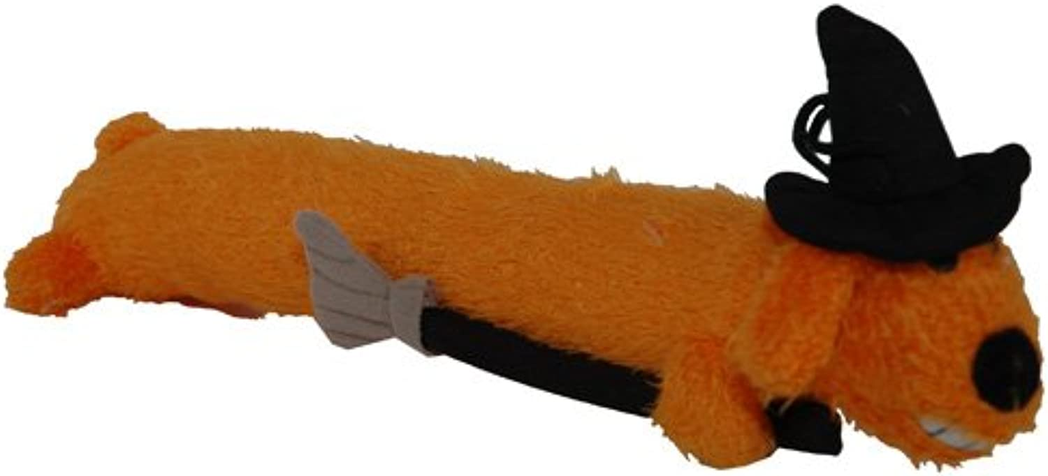 Loofa Witch Dog Toy 12 Inch