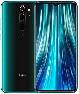 Redmi Note 8 Pro– Smartphone con Pantalla 653 FullHD+ (Cuatro cámaras de 64 + 8 + 2 + 2 MP Frontal 20 MP 4500 mAh Jack de 35 mm MTK Helio G90T Octa-Core 6 + 128 GB) Verde [Versión española]