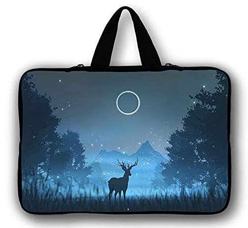 DENGDENG Laptop Sleeve 360° Protective Case Bag Compatible with 10-17 inch MacBook Pro, MacBook Air, Notebook-Style 3_12 inch 30 * 22.5cm