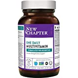 New Chapter Only One Multivitamin with Fermented Probiotics + Wholefoods + Vitamin D3 + B Vitamins + Organic Non-GMO Ingredients - 72 ct