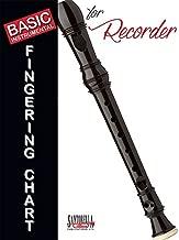 soprano recorder fingering chart