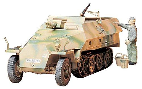 タミヤ 1/35 ミリタリーミニチュアシリーズ No.147 ドイツ陸軍 ハノマークD型 カノーネンワーゲン プラモデ...