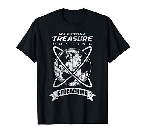 Geocaching Geocacher Geocache GPS gift idea T-Shirt