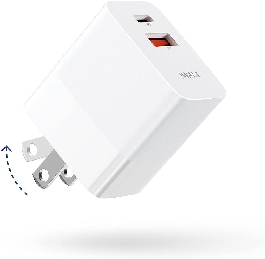 Iwalk 30W PD3.0 and 18W QC3.0 Mini Fast Wall Charger $9.87 Coupon