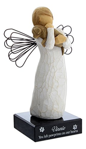 DEMDACO Willow Tree Angel of Friendship (Natural, 5