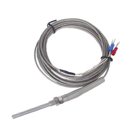 3M 50mm Spade K-Type Temperatur Controller Thermocouple Sensor Temperaturregler -100°C to 1250°C