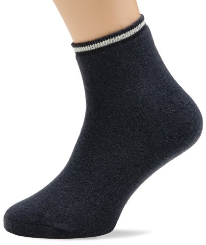 Susa Unisex - Erwachsene Socken Angora Fußwärmer s8080166, Gr. 38/40 (M), Grau (746 anthrazit)