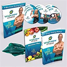 Cross Training System Strength, Flexibility, and Cardio Workout Exercise Program DVD with Aaron Wright