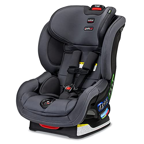 Britax Boulevard ClickTight Convertible Car Seat, Cool N Dry Charcoal - Cooling & Moisture Wicking Fabric