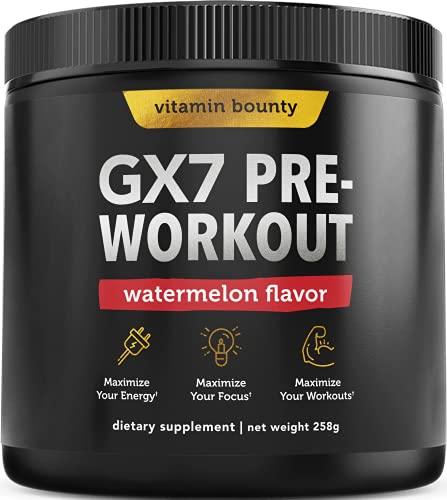 Vitamin Bounty Keto Pre Workout