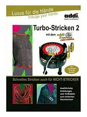 ADDI BOOK Turbo Knitting 2 for Express machine 16 patterns / instructions 996-0