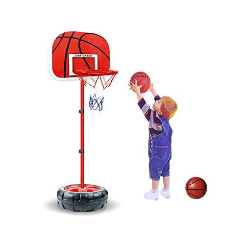 Taeku Basketballständer für Kinder Verstellbare Basketballkörbe Basketballkorb mit höhenverstellbarem Ständer Basketball-Rückwandständer Basketballkorb-Set Innen Außen (150cm)