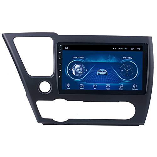 CARACHOME Unidad Principal de navegación GPS con Radio con Pantalla táctil Android 10 HD de 10 Pulgadas con Bluetooth WiFi para Honda Civic 2008-2012,WiFi 1+16g