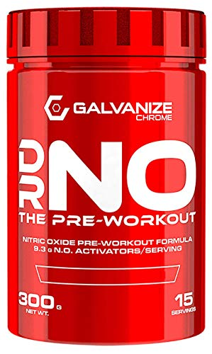 GALVANIZE NUTRITION DR NO The PRE Workout 300 GRS Pineapple Paradise