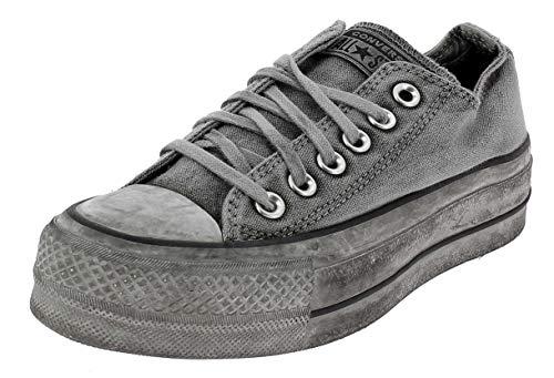 Converse Limited Edition Ctas Ox Scarpe Sportive Donna Grigie 563112C Grigio 35 EU