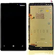 ePartSolution-OEM Nokia Lumia 920 LCD Display Touch Digitizer Screen + Frame Assembly Black Replacement Part USA Seller