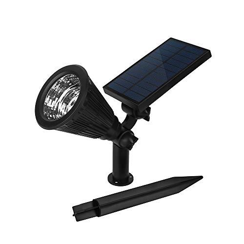 Z.L.FFLZ Lights Solar Red Blue Bright Plant Light for Yard, Garden, Playground, Basketball Court Solar Powered Lamp